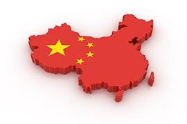 แผนที่ประเทศจีน
