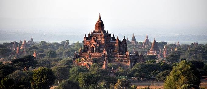 ประเพณีสงกรานต์ของพม่า